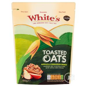 Whites Toasted Oats Apple Cinnamon Crunch 500G   Vitamins & Supplements for sale in Lagos State, Ikeja
