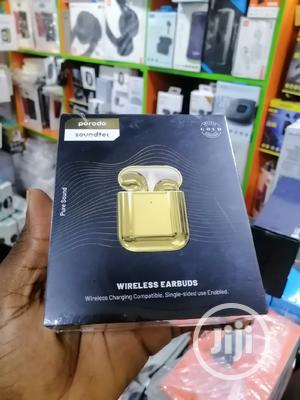 Porodo Earbuds Golden | Headphones for sale in Lagos State, Ikeja