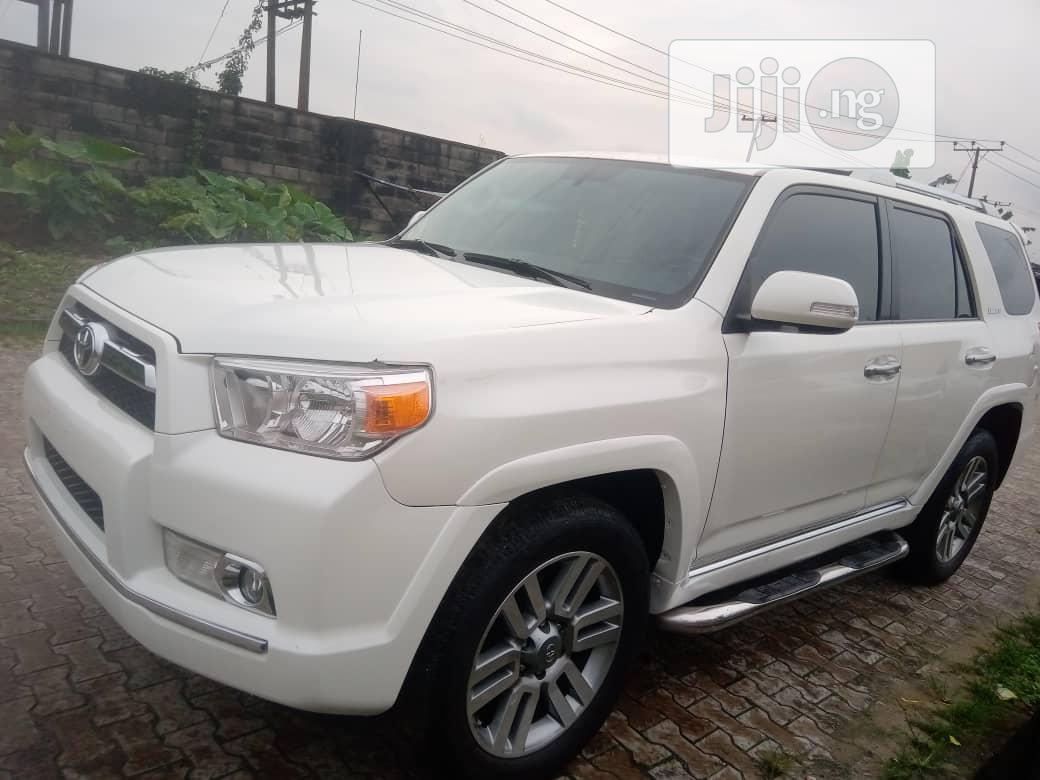Archive Toyota 4 Runner 2010 Limited 4wd White In Port Harcourt Cars Asclove Autos Jiji Ng
