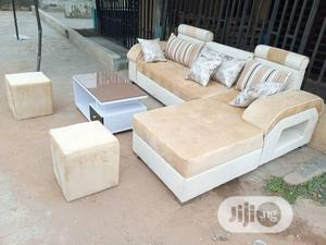 Lshape With Centre Table and Ottomans   Furniture for sale in Lagos State, Gbagada