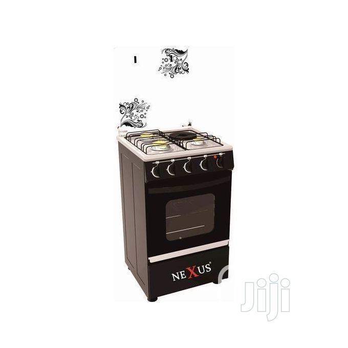 Archive: Nexus Gas Cooker Gccr-Nx-5055b(3+1)