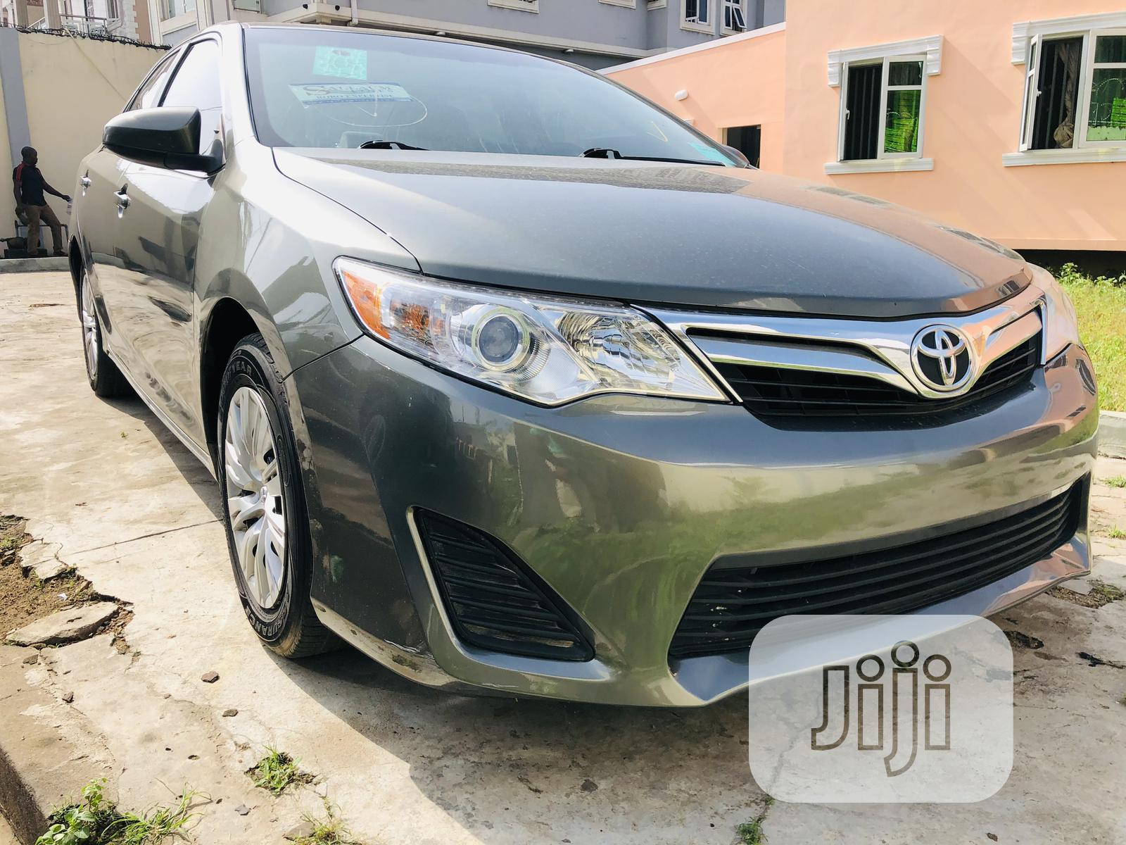 Toyota Camry 2013 Green