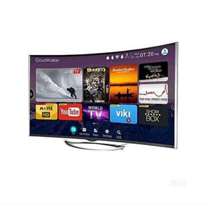 Polystar 55'' Smart Curved Android TV.   TV & DVD Equipment for sale in Abuja (FCT) State, Central Business District