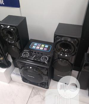 New Polystar Powerful Sound Set (2500w) DVD Play + Bluetooth   Audio & Music Equipment for sale in Lagos State, Ojo