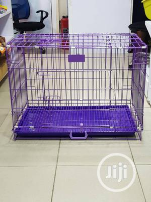Strong Collapsible Dog Cage | Pet's Accessories for sale in Lagos State, Agege