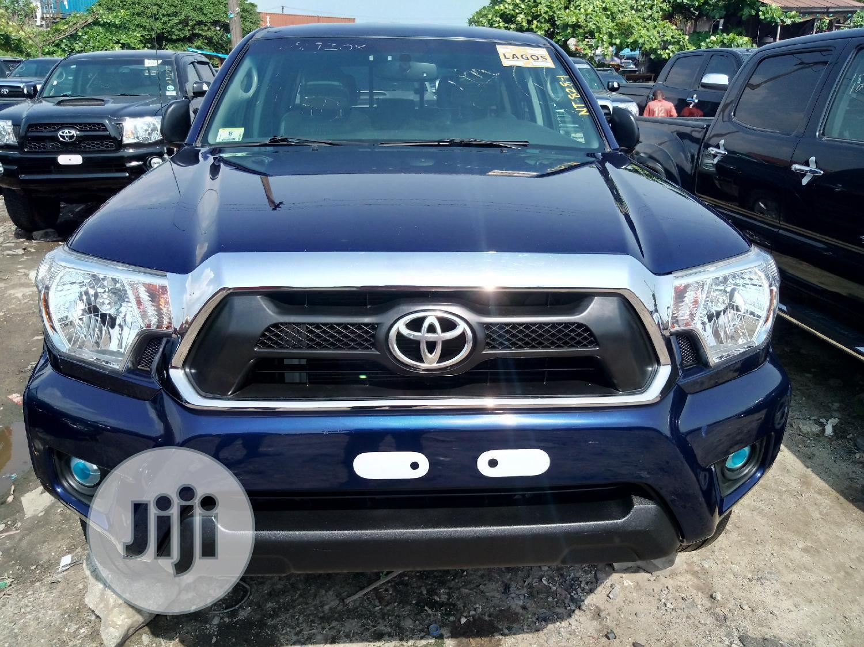 Toyota Tacoma 2013 Blue