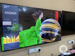 Samsung QE65Q80RATXXU 65 Inch Smart HDR 4K Ultra HD QLED | TV & DVD Equipment for sale in Lagos State, Ojo
