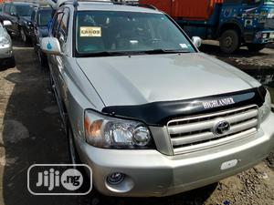 Toyota Highlander Limited V6 2005 Silver   Cars for sale in Lagos State, Apapa