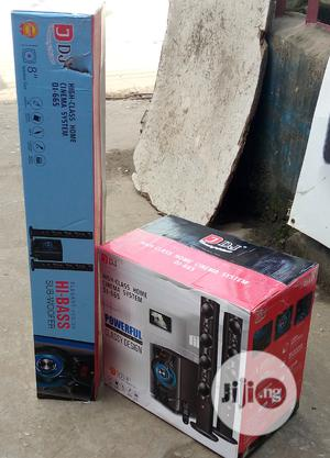 Djack 5.1ch Powerful Home Theater (DJ-665) With Bluetooth   Audio & Music Equipment for sale in Lagos State, Ojo