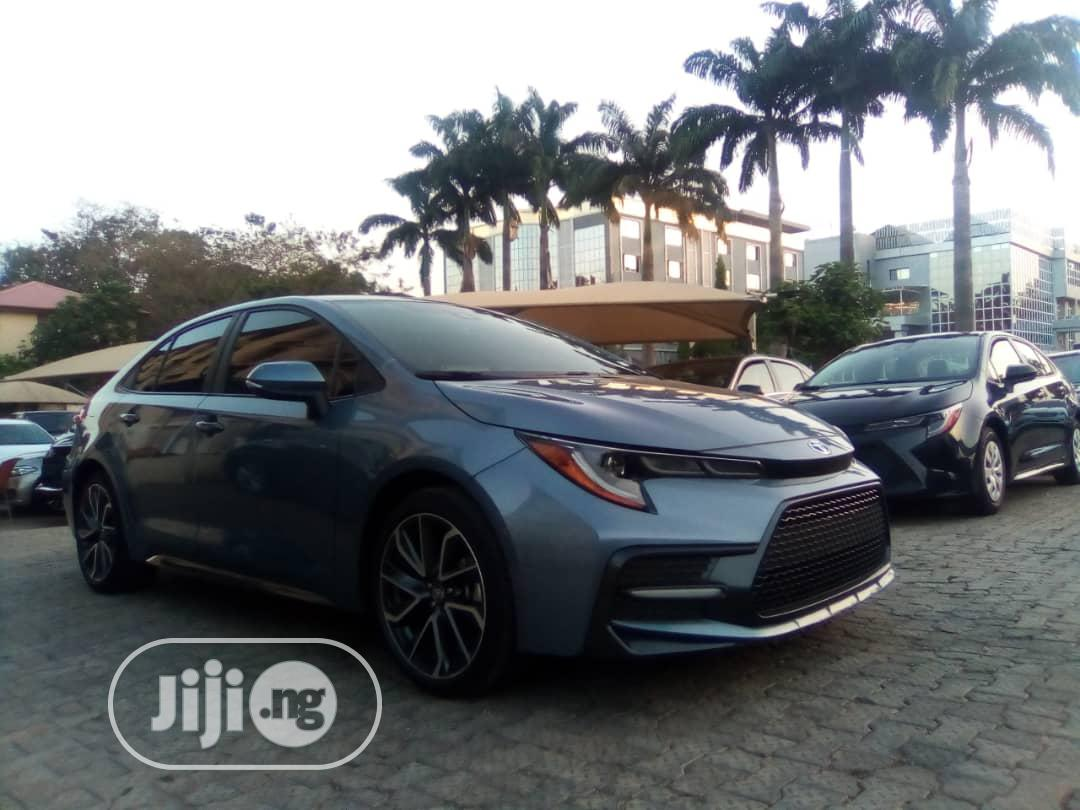 Toyota Corolla 2020 XLE Blue | Cars for sale in Central Business Dis, Abuja (FCT) State, Nigeria