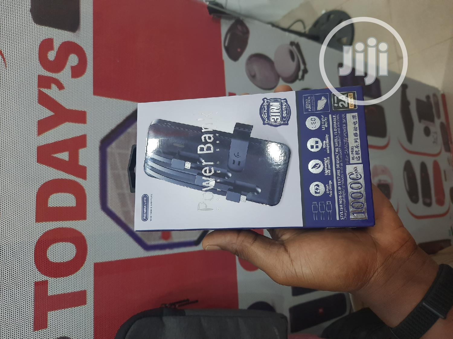 Remax Powerbank 10,000 Mah | Accessories for Mobile Phones & Tablets for sale in Ikeja, Lagos State, Nigeria