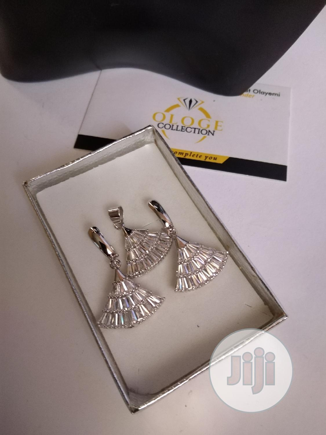 Stoned Silver Jewelry Sets