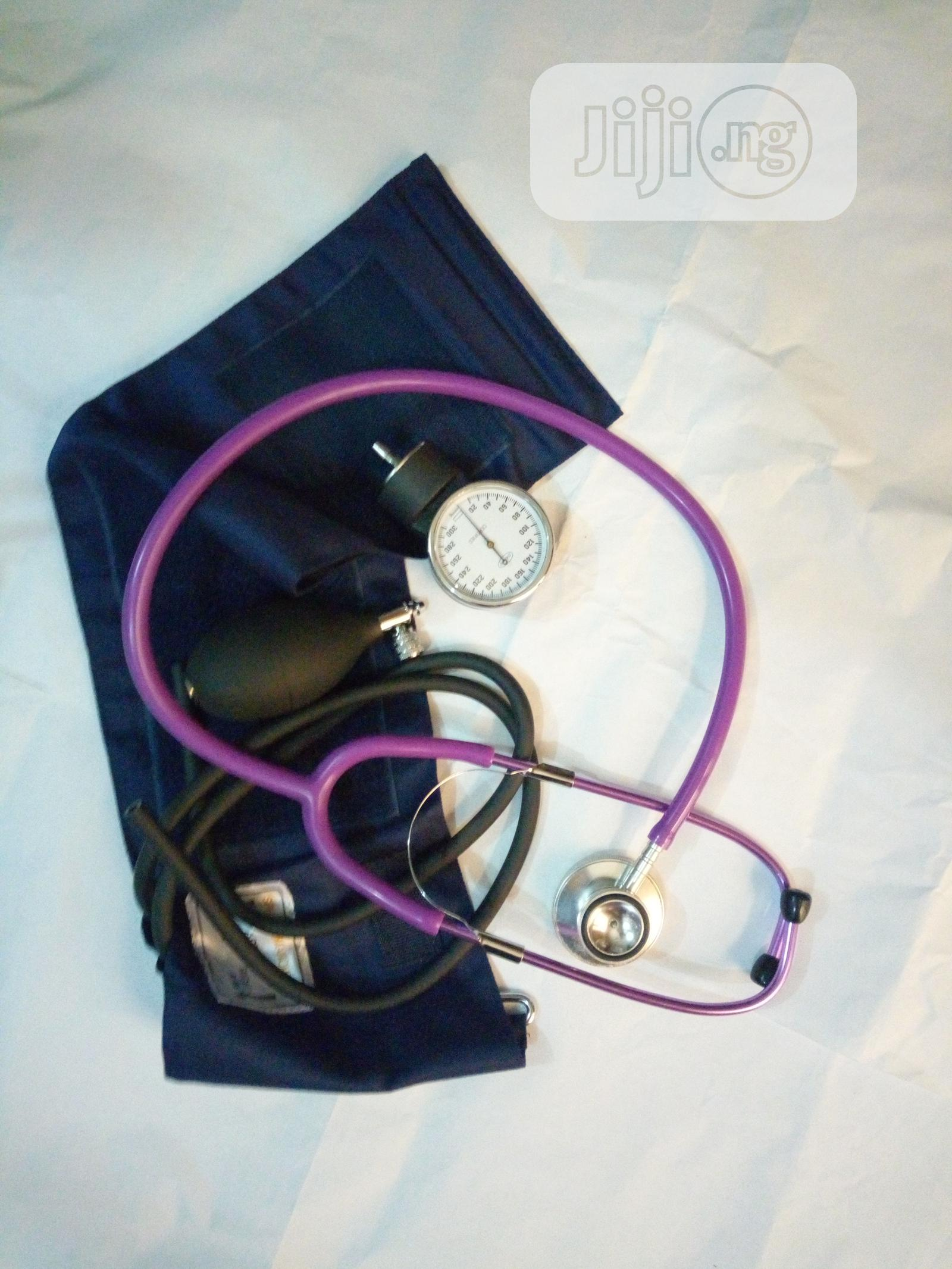 Archive: Aneriod Sphygmomanometer With Color Stethoscope
