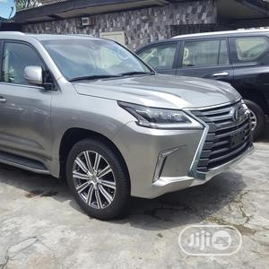 Lexus LX 2017 570 Base Gray | Cars for sale in Lagos State, Kosofe