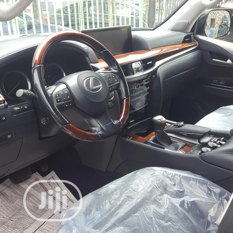 Lexus LX 2017 570 Base Gray | Cars for sale in Kosofe, Lagos State, Nigeria