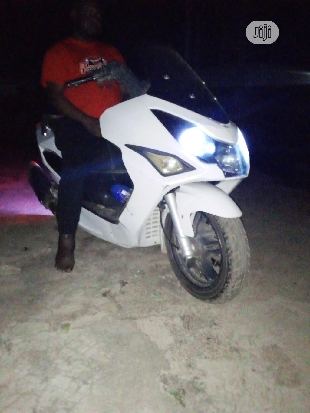 Custom Built Motorcycles Pro Street 2015 White | Motorcycles & Scooters for sale in Ibadan, Oyo State, Nigeria