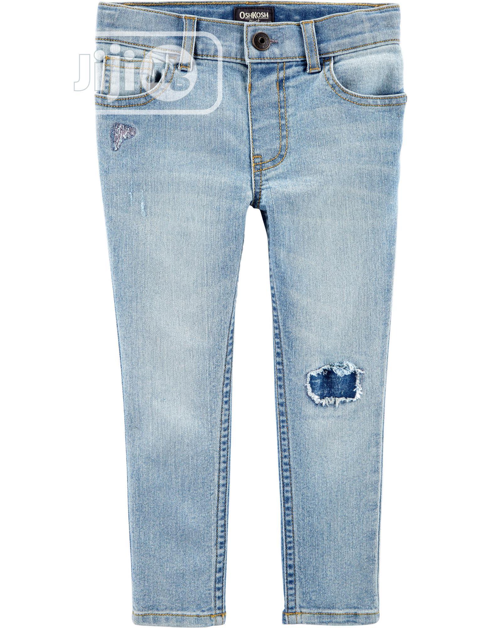 Rip-And-Repair Skinny Jeans