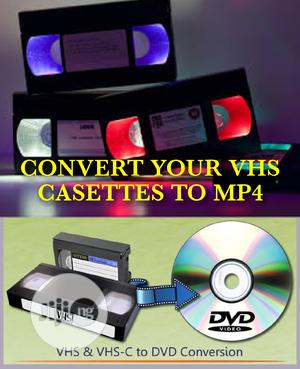Vhs To Dvd, Mp4 | DJ & Entertainment Services for sale in Lagos State, Ikeja