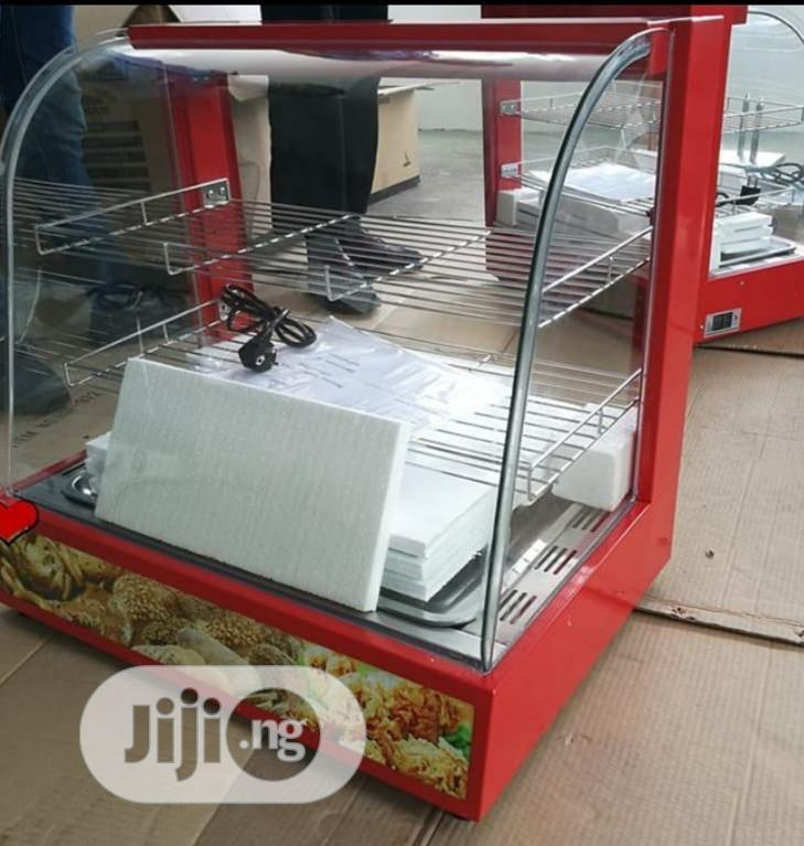 Archive: Newly Imported Snacks Warmer Display Showcase (High Quality)
