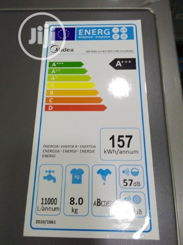 Archive: Midea Washing Machine MFK80-U1401 B/C14E-EU(A32) 8kg