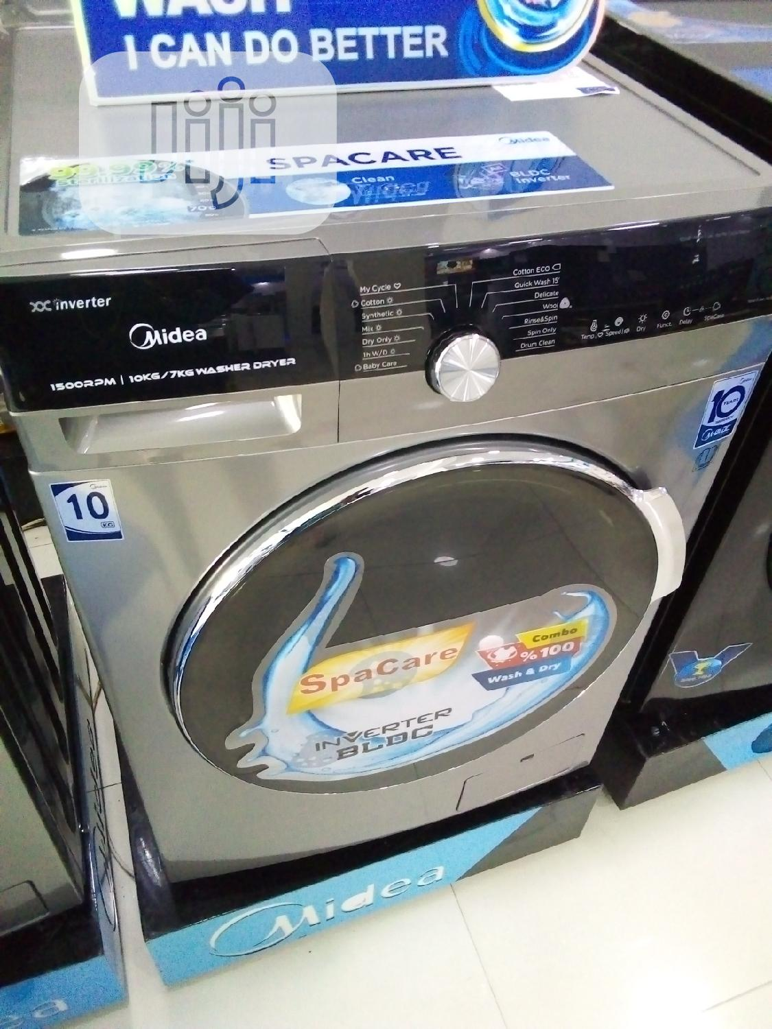 Archive: Midea Washer Dryer-Mfk100-Du1501b/C35e-E(A)10kg Front Loader