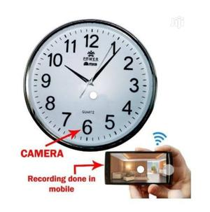 Spy Wifi Wall Clock Camera | Security & Surveillance for sale in Lagos State, Ikeja
