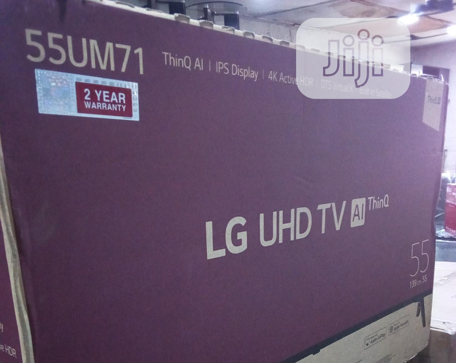 LG Smart Television 55 Inches | TV & DVD Equipment for sale in Mushin, Lagos State, Nigeria