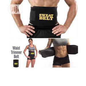 Sweat Belt Unisex Waist Trimmer, Weight Loss & Slimming Belt | Tools & Accessories for sale in Lagos State, Kosofe