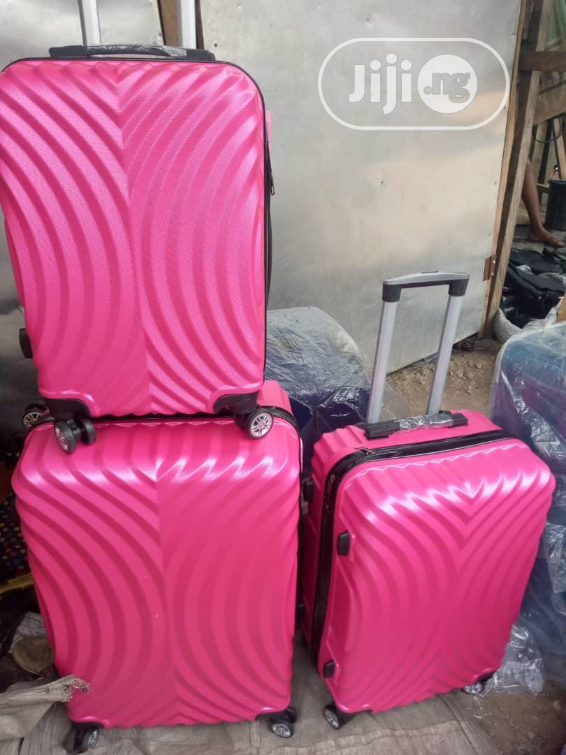 Traveling Trolley Luggage Box Set 3