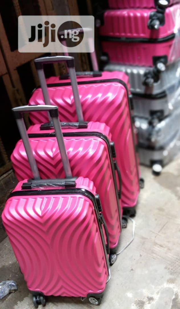 Traveling Trolley Luggage Box Set 3 | Bags for sale in Ikeja, Lagos State, Nigeria