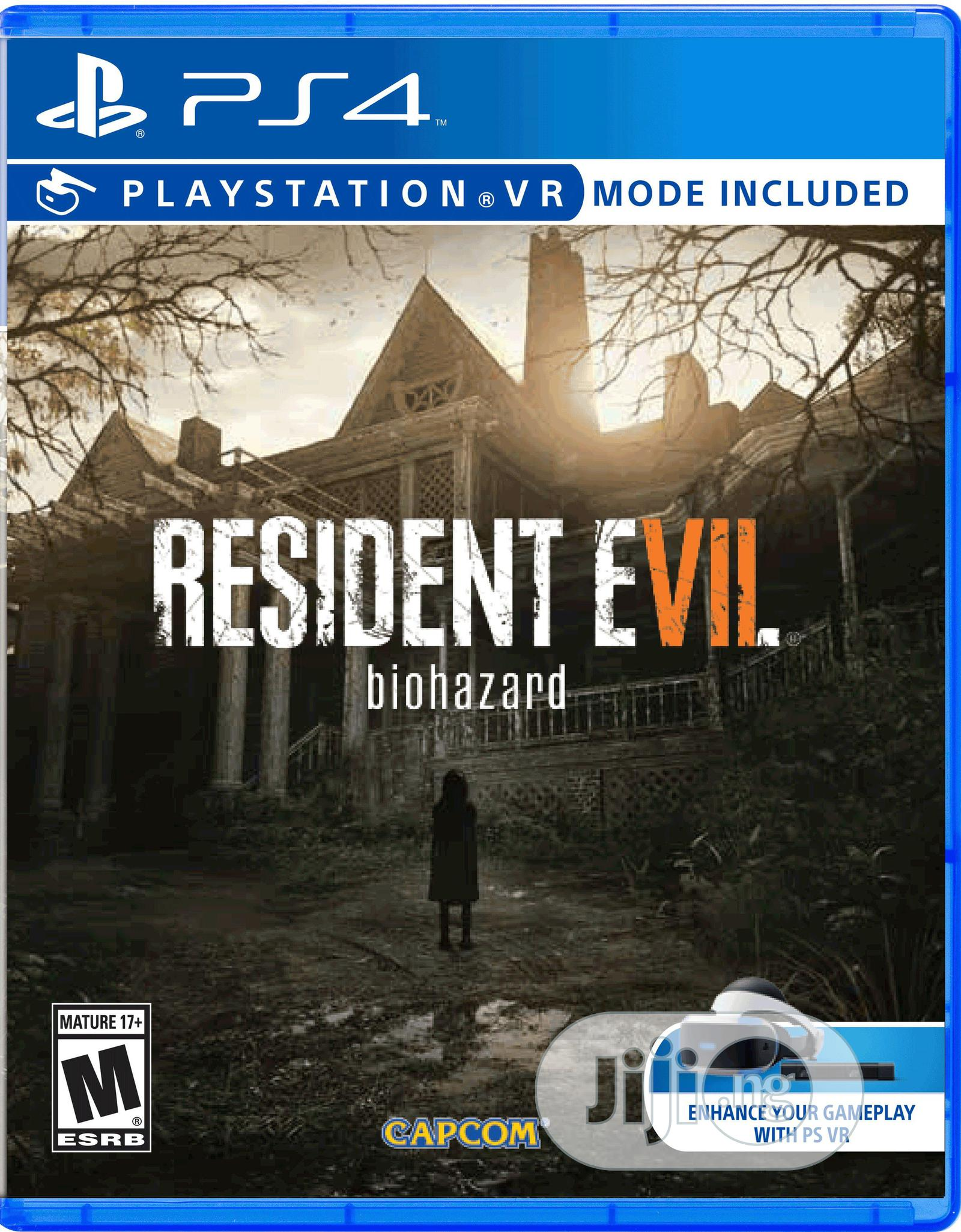 Resident Evil Ps4 Game (Biohazard)