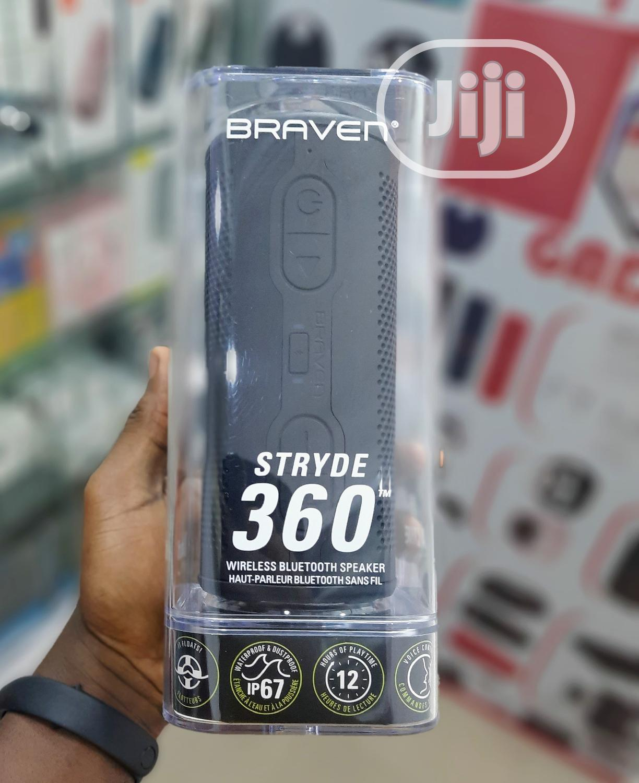 Braven Stryde 360 Bluetooth Speaker | Audio & Music Equipment for sale in Ikeja, Lagos State, Nigeria