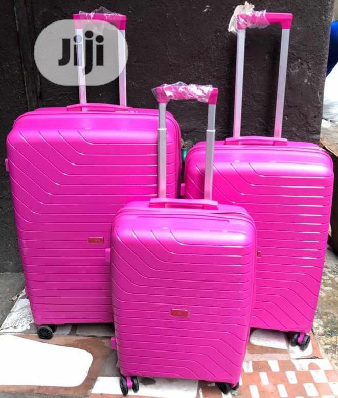 Swiss Polo Luggage Travel Trolley Box Set 3