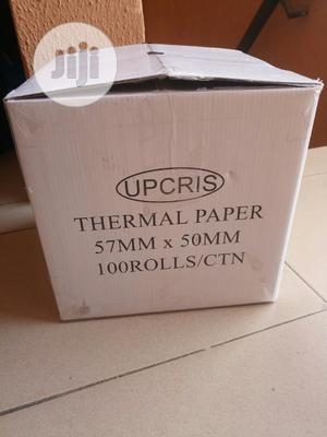 Thermal Paper 57mm X 50mm. Grade A Premium Quality   Stationery for sale in Lagos State, Alimosho