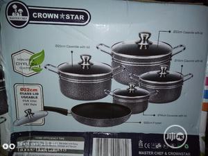 5 Units Non-Stick Aluminium Cookware   Kitchen & Dining for sale in Lagos State, Lagos Island (Eko)