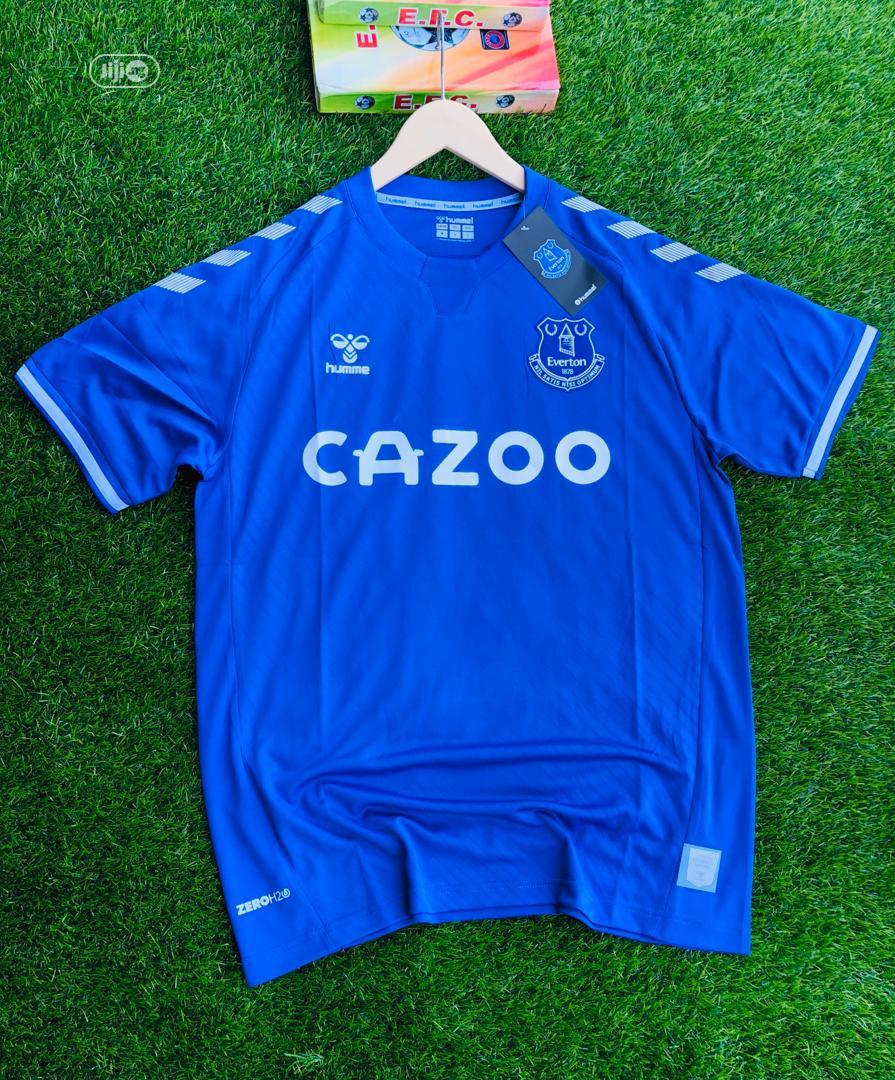 Original Everton Fc 2020 21 Season Home Away Jersey In Ilorin South Clothing Rash Jersey Boss Collection Jiji Ng For Sale In Ilorin South Rash Jersey Boss Collection On Jiji Ng