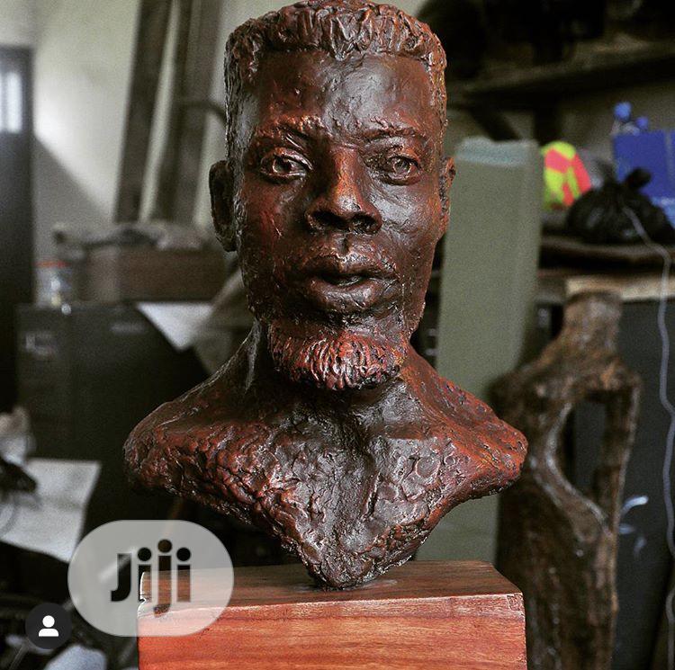 Realistic Sculpture, Painting, Pencil Portraiture.