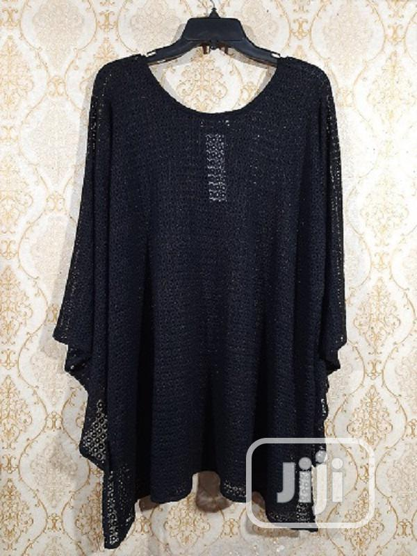 Ladies Long Sleeve Long Top - Black and Gold   Clothing for sale in Surulere, Lagos State, Nigeria