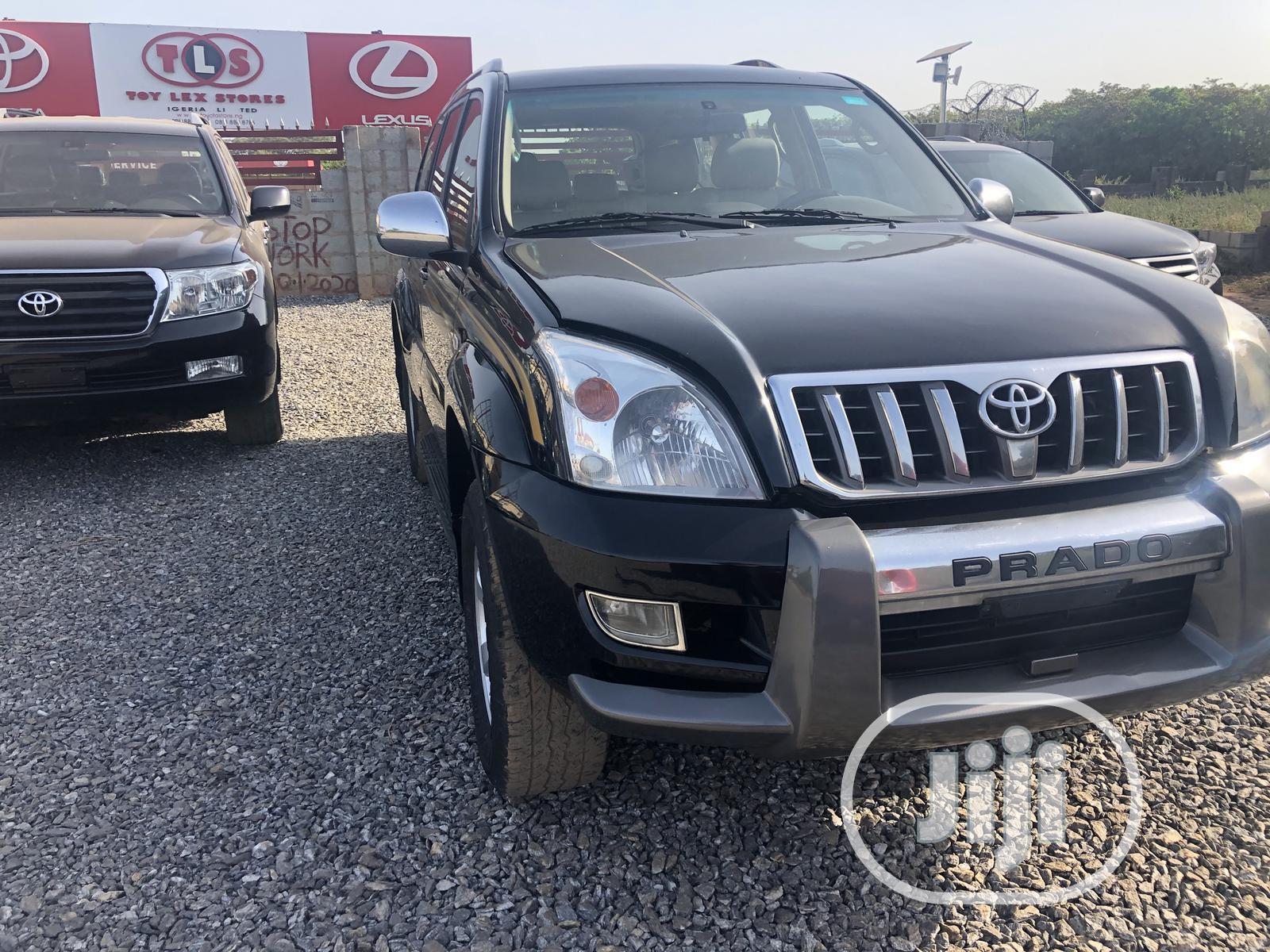 Toyota Land Cruiser Prado 2008 VX Black | Cars for sale in Kaura, Abuja (FCT) State, Nigeria