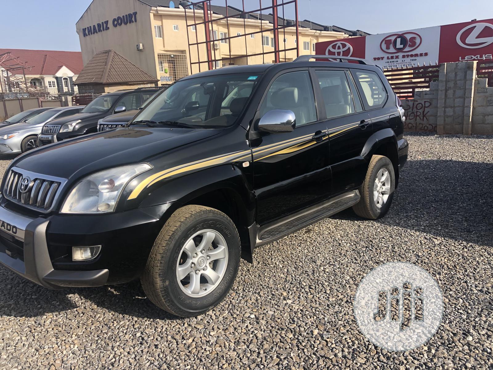 Toyota Land Cruiser Prado 2008 VX Black
