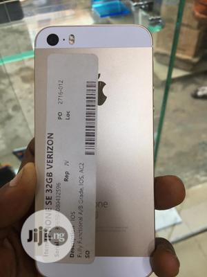 Apple iPhone SE 32 GB Gold   Mobile Phones for sale in Lagos State, Alimosho