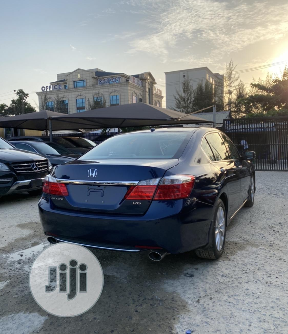 Honda Accord 2014 Blue | Cars for sale in Lekki, Lagos State, Nigeria