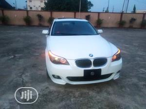 BMW 528i 2009 White   Cars for sale in Lagos State, Alimosho