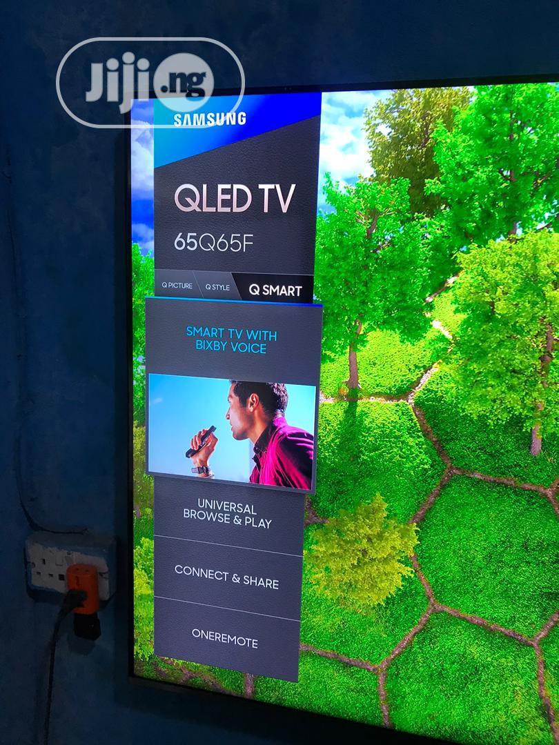 Samsung Qled 65inches 4ksmart Tv   TV & DVD Equipment for sale in Ojo, Lagos State, Nigeria