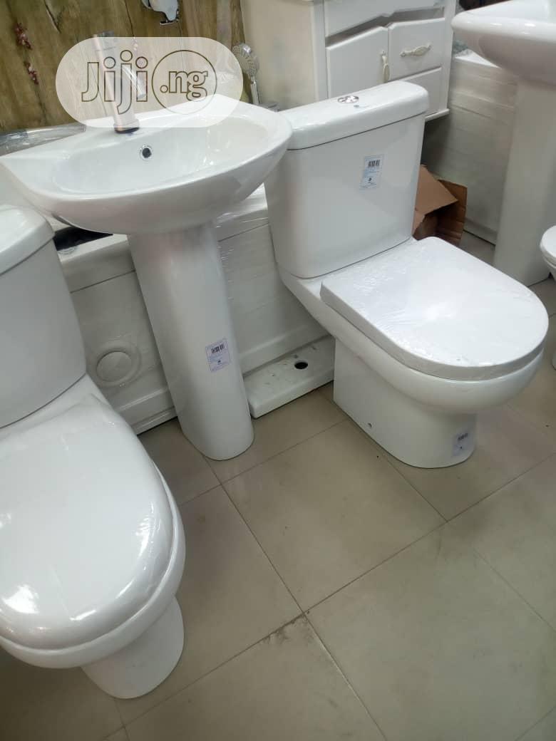 Original WC With Wash Hand Basin