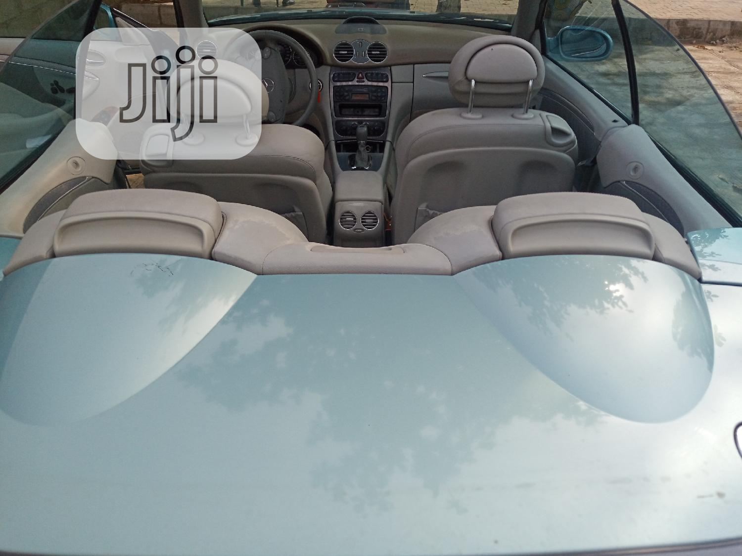 Mercedes-Benz CLK 2005 Blue   Cars for sale in Isolo, Lagos State, Nigeria