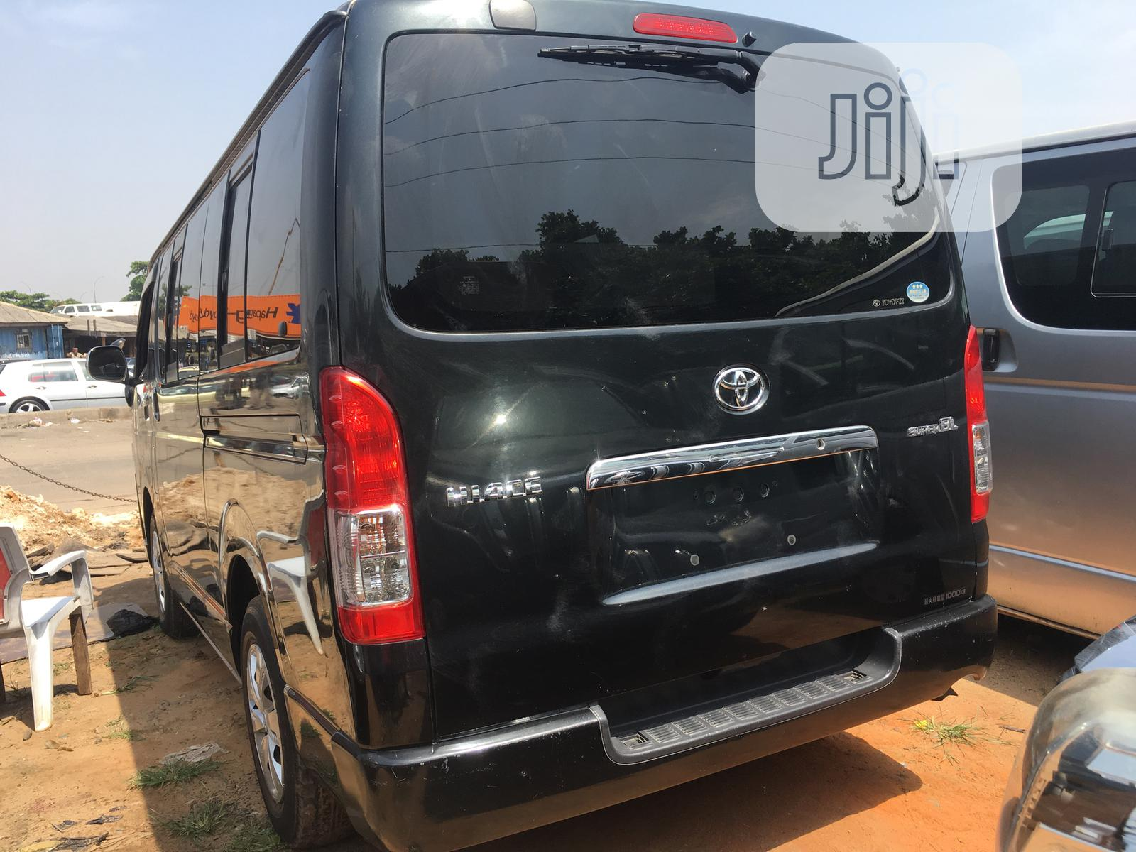 Toyota Hiace 2010 Black | Buses & Microbuses for sale in Apapa, Lagos State, Nigeria