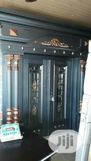 5ft Copper Door With Pillar And Cap Door   Doors for sale in Lagos State, Amuwo-Odofin