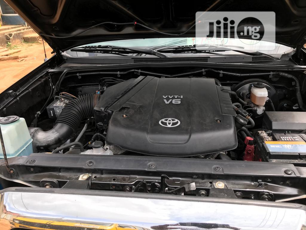 Toyota Tacoma 2008 4x4 Double Cab Black | Cars for sale in Ikeja, Lagos State, Nigeria