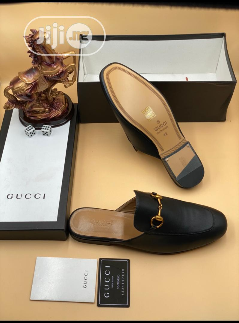 Gucci Men Luxury Half Shoes